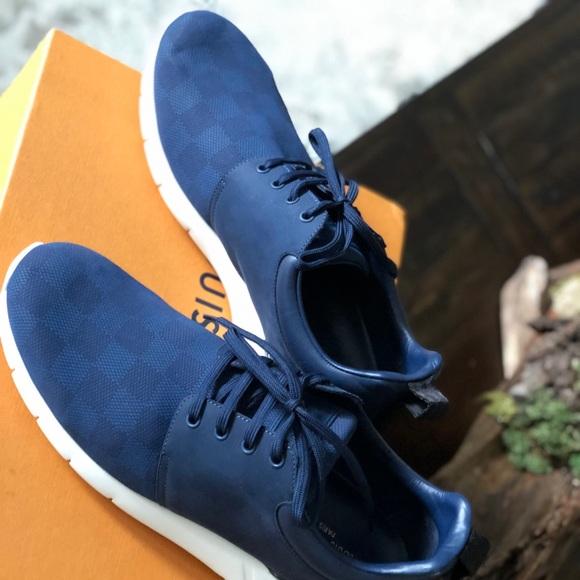Louis Vuitton Fastlane Sneaker Marine